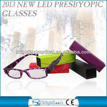 2013 New Style 2012 hot sale folding tr90 memory plastic reading glasses