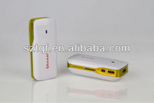Portable Power Bank & USB 3G Wireless Router / WiFi and read U-disc or card read