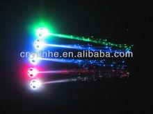 Colorful LED Light Hair Braid PVC Optic Fiber Flashing Hair Braid for Party Gift