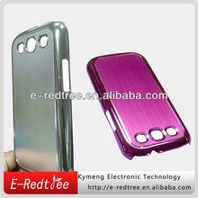 Summer popular brushed aluminum phone case for samsung S3 9300