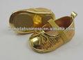baby girls golden zapatos de fiesta