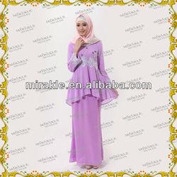 MF20672 beauty baju kurung design for muslim women