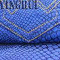 Yr-5103 8.5oz serpiente de espuma de jeans para mujeres