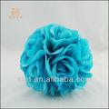 de espuma de color de la flor de espuma de poliestireno rosa bolas para bodas