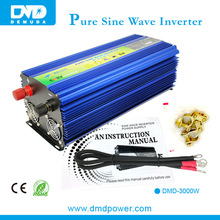 48V 220V 3kw/3000W pure sine wave solar power inverter connection