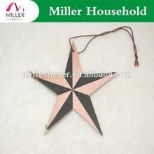 five star hotel giveaway gift decoration pentagram pendant paper car air freshener