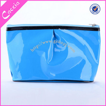 Lovely PVC Gloss Cosmetic Pouch Travel Size