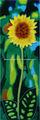 عباد الشمس الصفراء الصور من بلاط السيراميك لديكور المنزل
