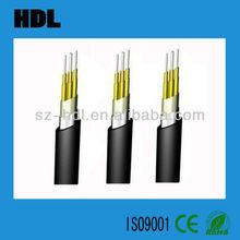 4core waterproof outdoor optical fiber cable