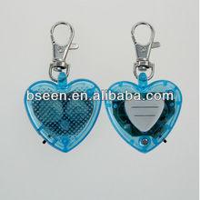 LED blank dog tag heart shape