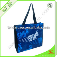 promotion pp woven bag with customized design