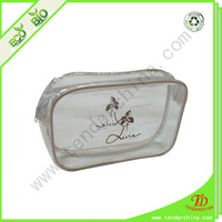 French pvc bag for cosmetic gift packing supplied by China factory