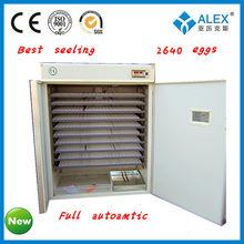 2013NEWST full automatic egg incubator coal price for 2640 eggs