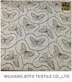 Nuevo diseño del telar jacquar 100% mariposa de algodón jacquard tejido para colchón y abrigo de invierno