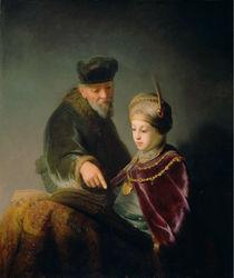 """Rembrandt Harmenszoon van Rijn""""A Young Scholar and his Tutor"""""""