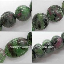 ruby zurite beads, round 4-16mm,16-inch per strand, wholesale semi-precious stone beads