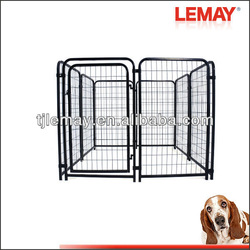 5' x 5' x 4' welded wire metal folding dog puppy crate cage carrier kennel