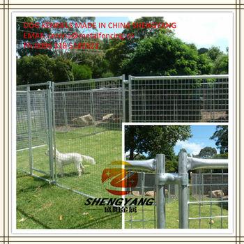 Australia standard hot galvanized dog kennel fence panels
