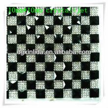10*10 square rhinestone crystal hot fit transfer sheet