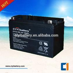 Valve Regulated Lead acid battery UPS Battery 12V 100AH AGM Battery