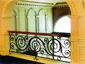 Hierro forjado escalera de barandilla