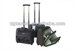 14 inch 1680D custom trolley pilot laptop bag for business travel
