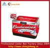 Budweiser metal cooler box