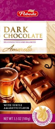 dark chocolate amaretto 50% cocoa