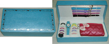 factory direct hot interchangeable strap watch gift items girls with wallet