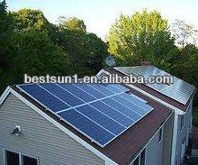5000w High quality grid switch solar golf cart