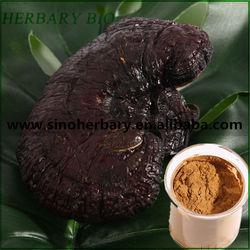 Wood log cultivated Ganoderma lucidum/Lingzhi mushroom triterpenes