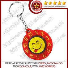 Custom soft pvc key Chain