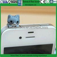 New dust proof plug,Custom pvc anti dust plug,Make moblie anti dust plug