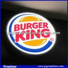 led burger king wall hanging light sign