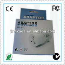 universal travel smart adapter plug convert US/UK/EU/AU plug adapter electrical multi socket plug