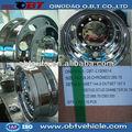 22.5 polegada rodas de liga leve cromadas bbs replica rodas para reboquesdocaminhão