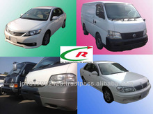 Various Used Car Types Models and Colors Car from Japanese Distributor