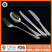 Daily Use Knife Fork Spoon Porcelain Handle Cutlery Set