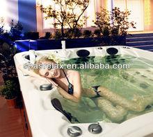 منزل سبا 2013 5 شخص رخيصة جميلة تدليك بانيو الحمام الساخن مع بالبوا