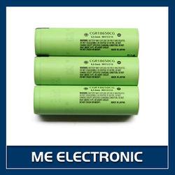 10A discharge -CGR18650CG high drain 18650 2250mAh li-ion battery for Panasonic