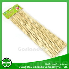 4.0x250mm strong disposable bamboo soak beef skewer