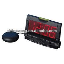 decorative alarm clock with Bed Shaker/Big LED Alarm Clock