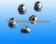 high pressure needle jet pin nozzle with ceramic orific
