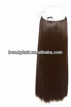 100% Human Hair Popular in Euro Market Flip In Extensions