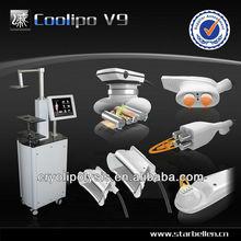 SPA Equipment Ultrasonic Liposuction Cryolipolysis Fat Freezing Multifunction Cavitation Machine