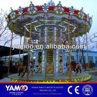 48 seats amusement ride Luxury Carousel/amusement theme equipment