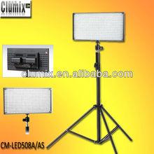 Bi-color LED508A/AS led studio light for photo shooting