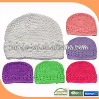 Crochet kufi hat pattern