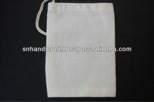 Organic Cotton Muslin Drawstring Favor Bags