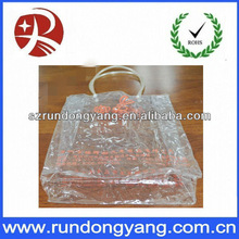 2013 PVC Plastic Packaging Pouch With Handle